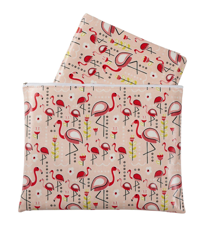 Sugarbooger Jumbo Floor Splat Mat, Flamingo