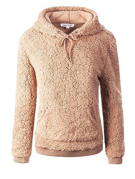 Designer Pullover Damen Pullover camel (42):
