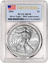 2016 American Silver Eagle First Strike $1 MS-70 PCGS