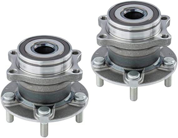 2 DTA Rear Wheel Bearing Hub Assemblies Fits 2015-2019 Subaru Legacy