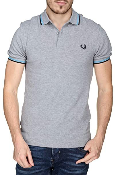 Fred Perry Twin Tipped Shirt, Polo: Amazon.es: Ropa y accesorios