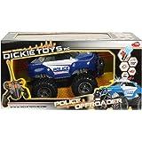 Dickie Toys 201119056 - RC Police Offroader, funkferngesteuerter Polizeimonstertruck inklusive Batterien, 20 cm
