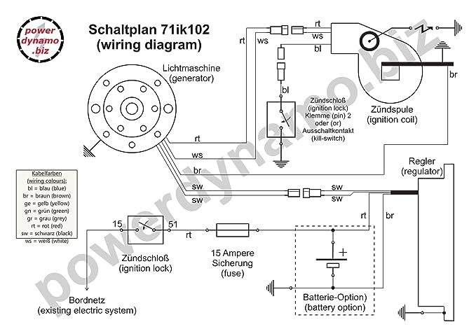 Amazon.com: Powerdynamo (MZ-B) DC Ignition 81-88 Husqvarna 250 400 ...