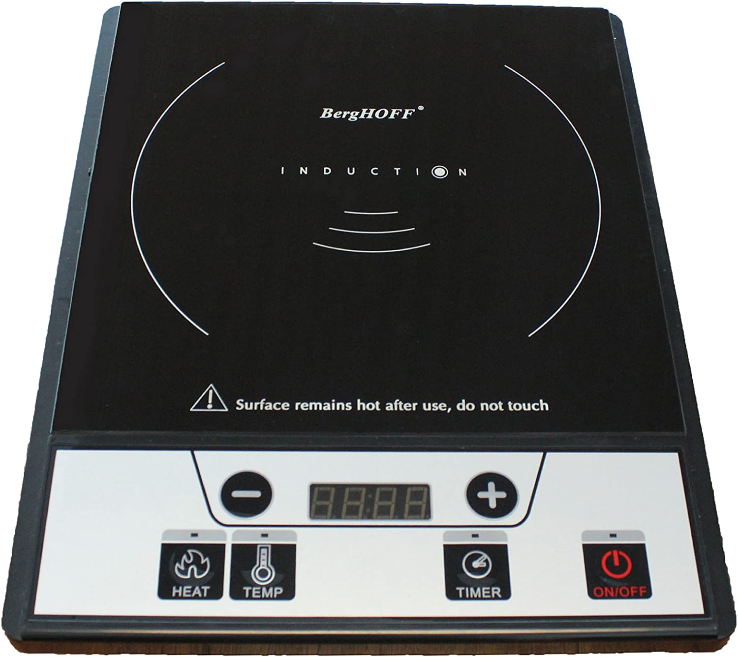 BergHOFF 2216760 Tronic Power Induction Stove, Black