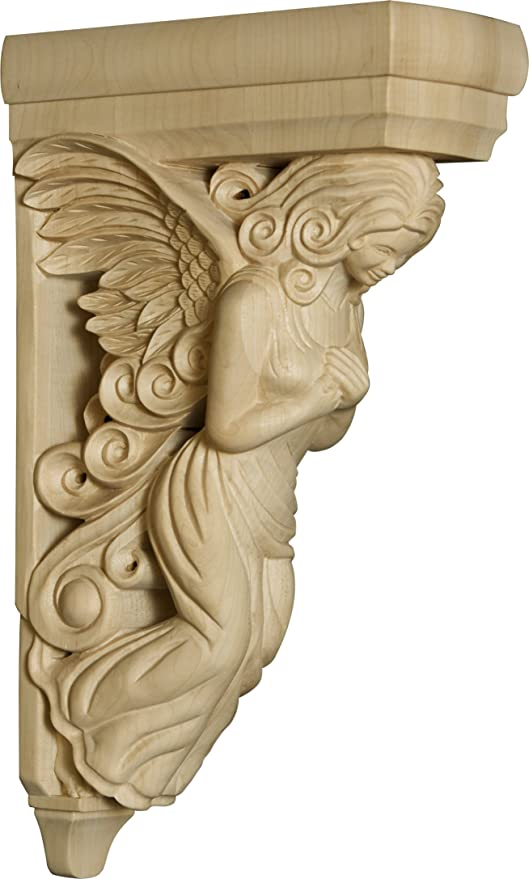 Home Decor Wooden Angel Bar Corbel 14 X 3 X 8 Wood Moldings And Trims Amazon Com