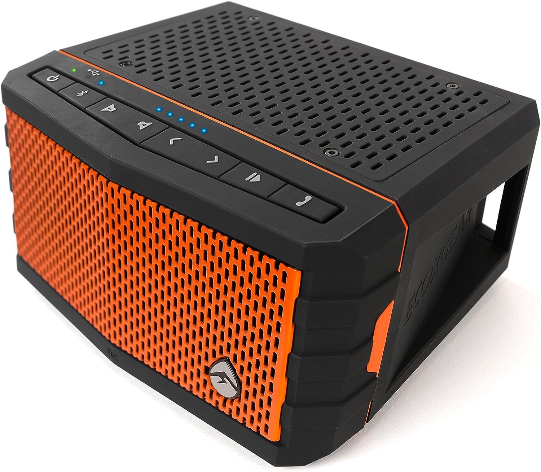 ECOXGEAR Waterproof Speaker for Universal//Smartphones Retail Packaging Orange
