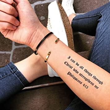 Tatuaje Temporal de puedo hacer de todo (2 Piezas) - www.ohmytat ...