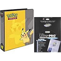 Deals on Ultra Pro Pokemon Pikachu 2-in 3-Ring Binder Card Album