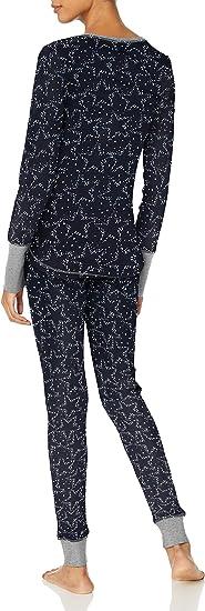 Choose SZ//Color Splendid Women/'s Pajamas Thermal Long Sleeve Ski Pj Set