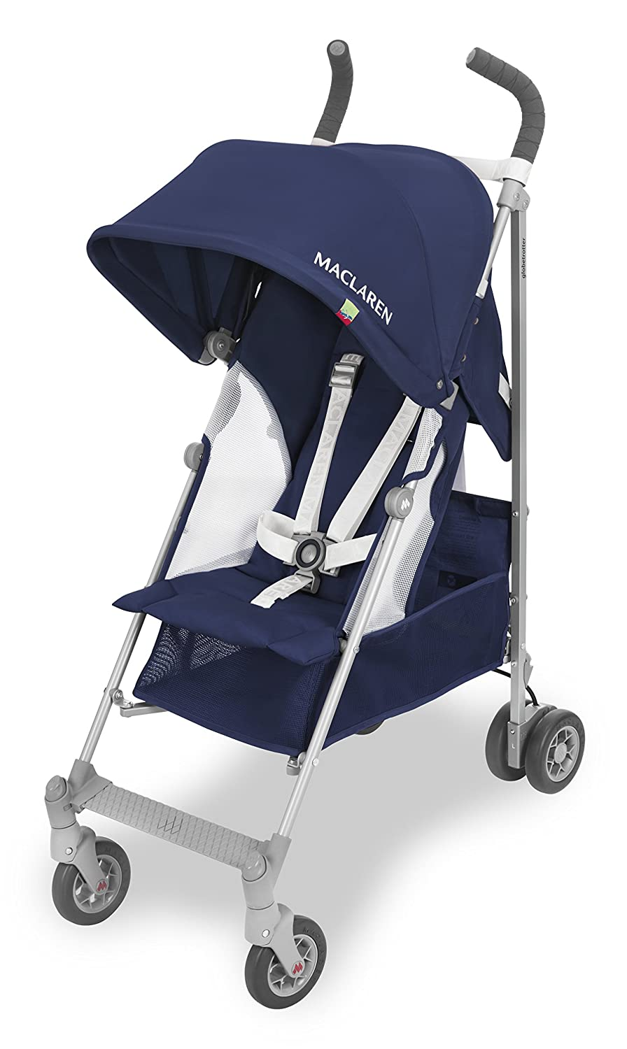 Maclaren Globetrotter Medieval Blue/White Maclaren UK Ltd. WD1G110342