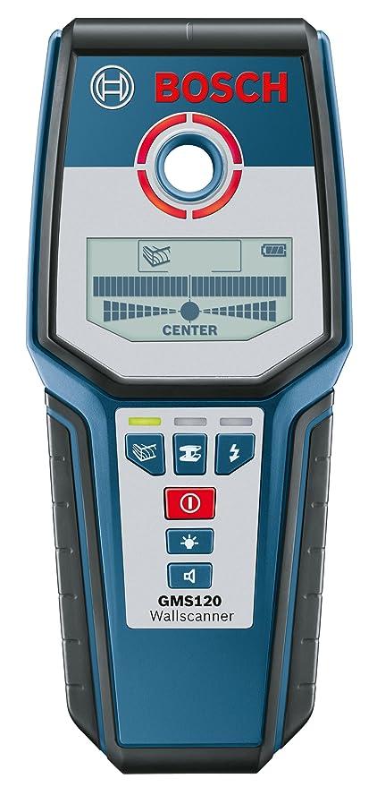 Bosch 601081000 - Gms 120 - herramienta para medir (negro, azul, 9 v
