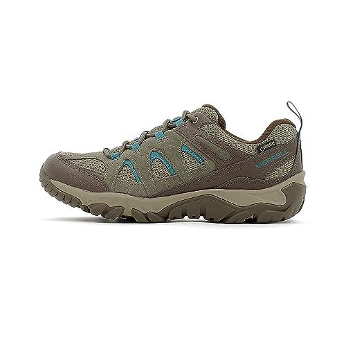 Zapatillas de montaña de mujer Outmost Mid Vent Gore-Tex Merrell