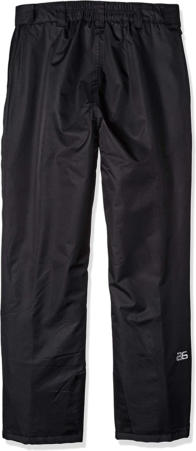 2X-Large 44-46W * 32L Black Arctix Mens Full Side-Zip Insulated Snow Pants