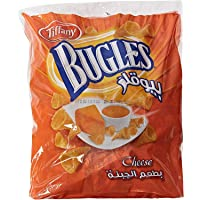 Tiffany Bugles Cheese - 13 gm x 22 Pieces (Pack of 2)