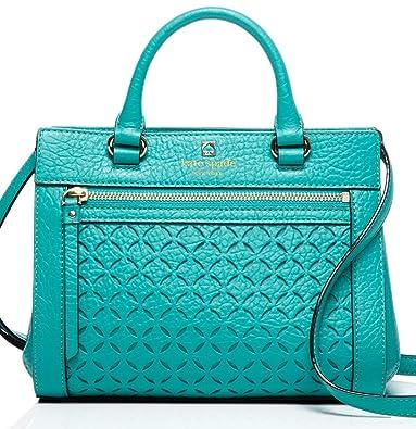 d5259325cb Amazon.com: Kate Spade Perri Lane Mini Romy Satchel Handbag Crossbody Purse  in Fremont Turquoise (342): Shoes