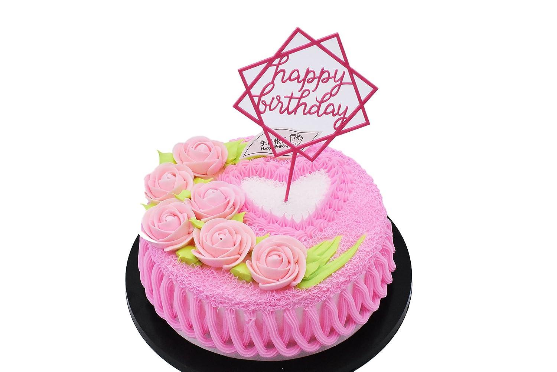 Happy Birthday Glitzer Kuchendekoration Cake Toppers Kuchen Deko China Karo Gold
