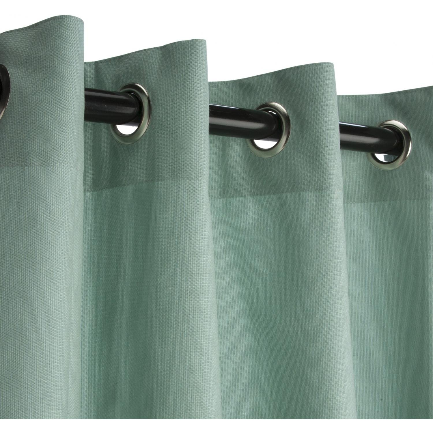 Amazon.com : Sunbrella Outdoor Curtain With Grommets By Hatteras ...