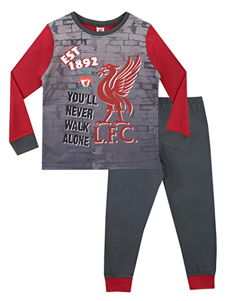 Liverpool FC Pijama para Niños Football Club 3-4 Años