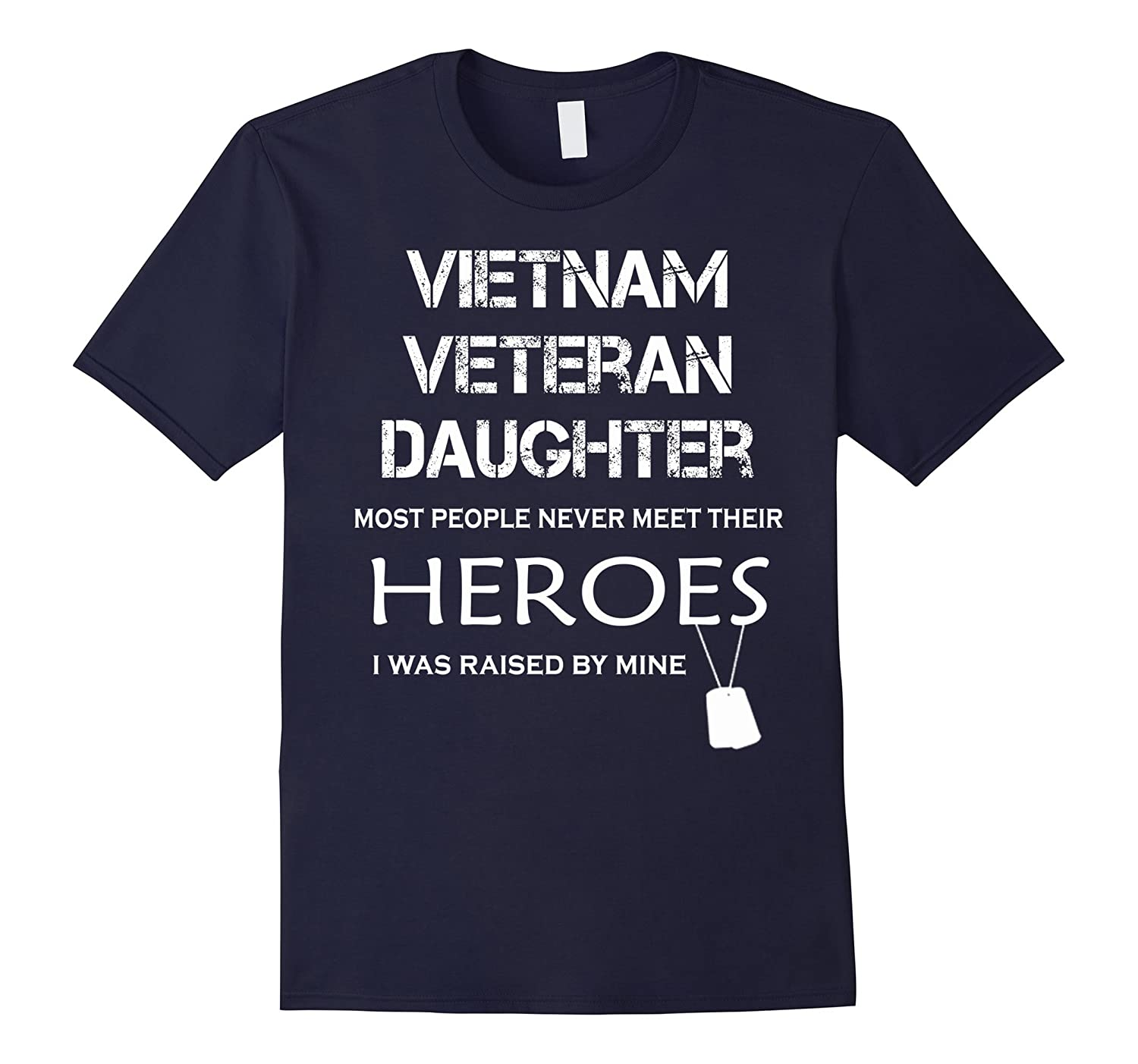 Viet Nam Veteran Daughter Funny Gifts for 4 of July Shirts