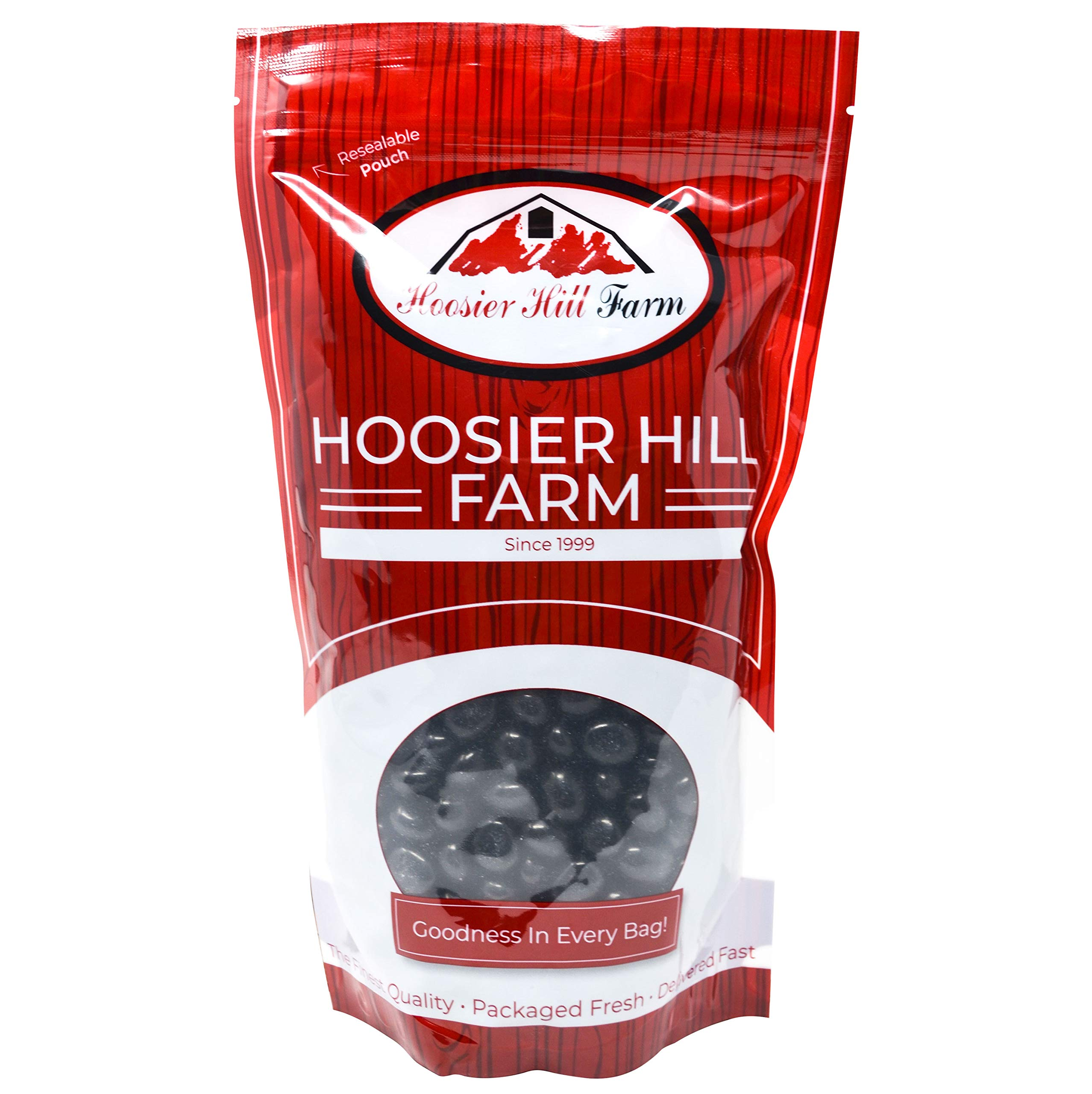 Hoosier Hill Farm Gourmet Dark Chocolate Espresso Beans, 80 Ounce