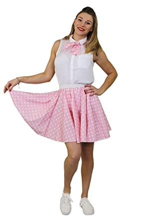 I Love Fancy Dress. ilfd7064os Mujer Corto Lunares Falda (Talla ...