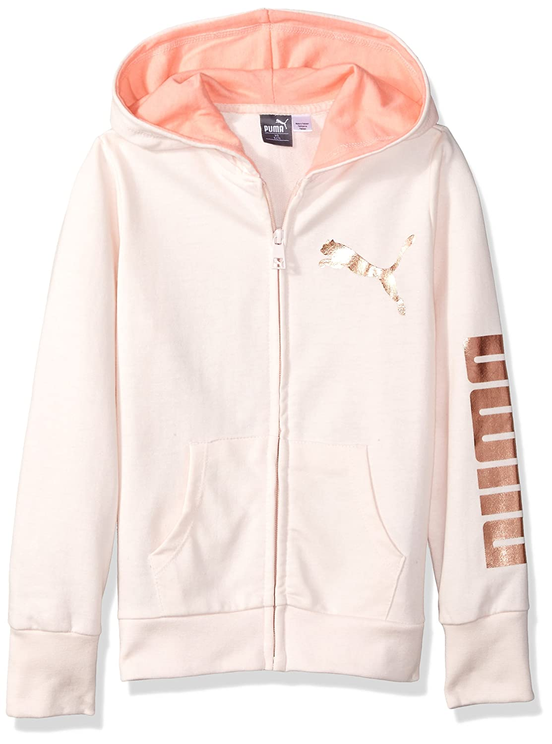 PUMA Girls Big Girls Girls' Full Zip Hoodie