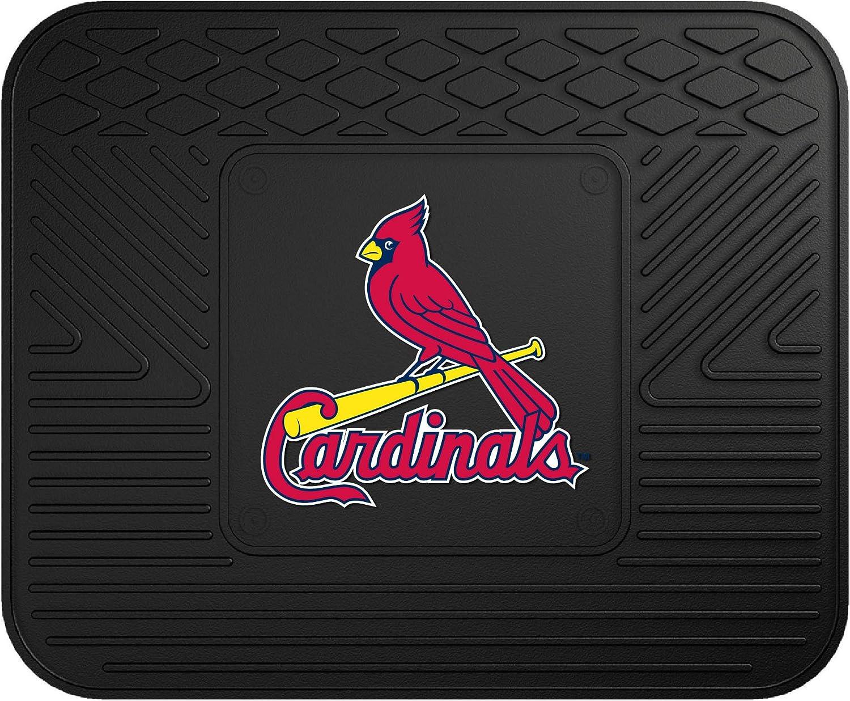18x27-8781 FANMATS MLB St Louis Cardinals Vinyl Heavy Duty Car Mat