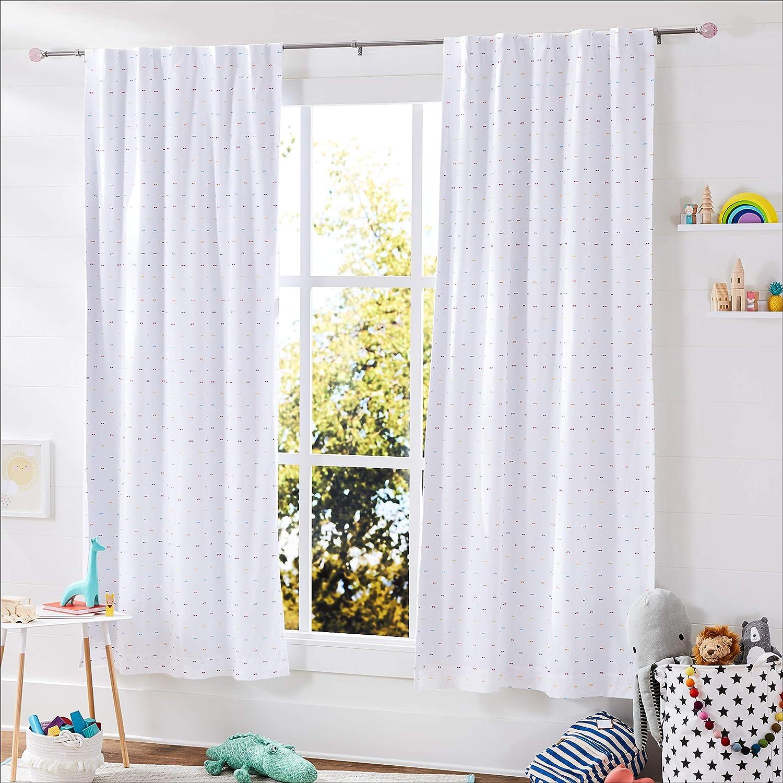 Basics Tringle /à rideau d/écorative diam/ètre 1,6 cm avec embouts Boule /à facette Rose 71 cm