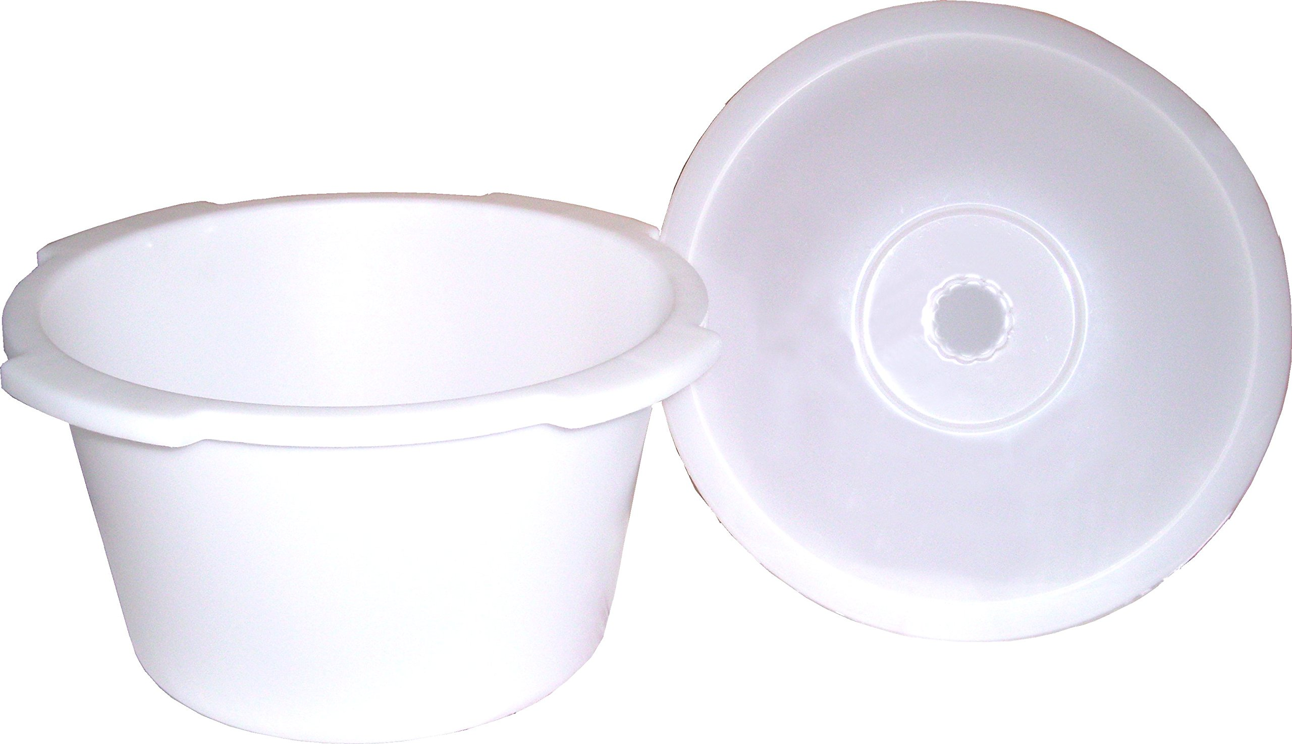 ConvaQuip 1500PC Universal Commode Pail Short
