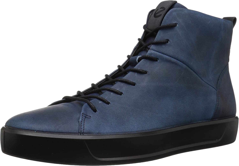 ECCO Men's Soft 8 High Top Sneaker
