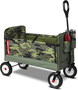 Radio Flyer 3-in-1 Camo Wagon