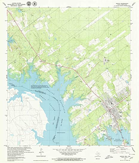 Map Of Zapata Tx.Amazon Com Yellowmaps Zapata Tx Topo Map 1 24000 Scale 7 5 X 7 5