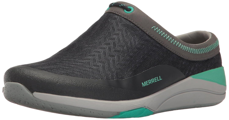 Navy Merrell Womens Applaud Mesh Slide Hiking shoes