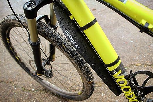 Mucky Nutz Face Fender Mountain Bike Enduro Descente Garde-boue reflètent RRP £ 9.99