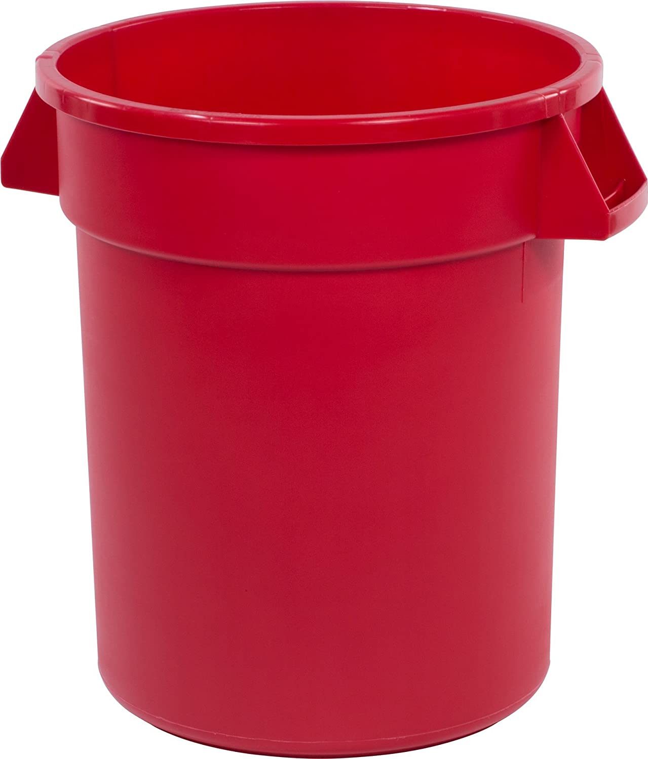 Carlisle 34102005 Bronco Round Waste Container Only, 20 Gallon, Red
