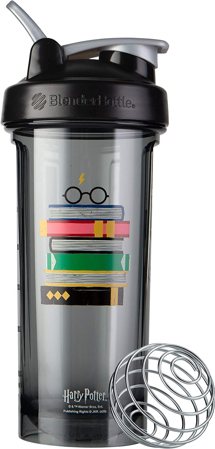 Blender Bottle Harry Potter Pro Series 28-Ounce Shaker Bottle, Books