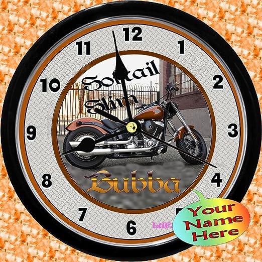 Amazon.com: Personalizado Harley Davidson Softail Slim Reloj ...