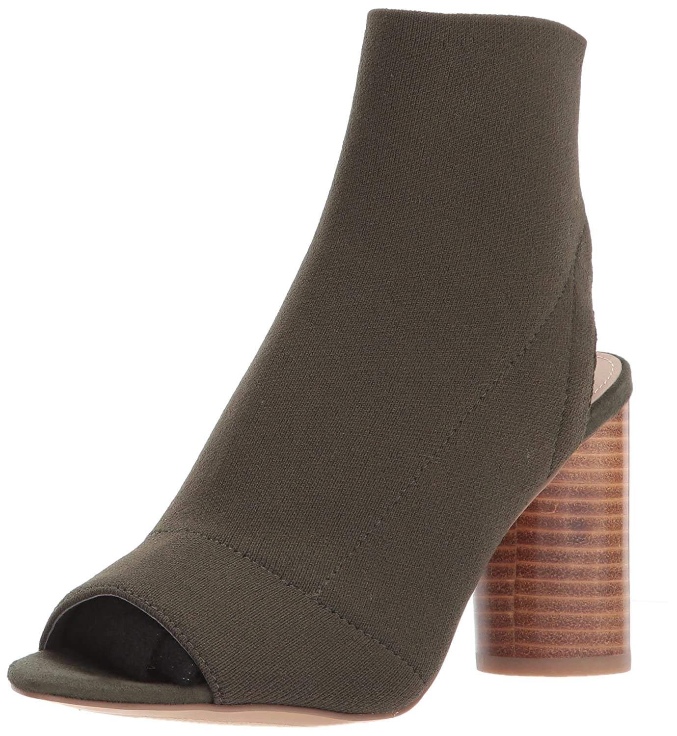 Steve Madden Women's Sunnie Ankle Bootie B06XH48P57 6.5 B(M) US|Olive