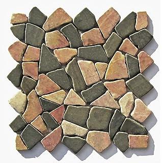 M-005 Marmor Onyx mediterran Naturstein-Mosaik Bad Stein-Mosaik ... | {Badezimmer fliesen naturstein mosaik 44}