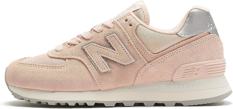 New Balance WL 574 B Sneakers Damen Rosa (Pink)
