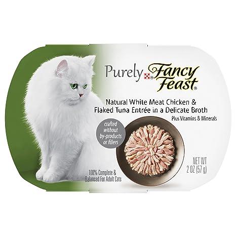 Purely Fancy Feast - Comida para Gatos con Forma de Pollo y Túnel Acampanado, Color