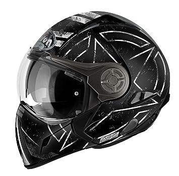 Amazonfr Airoh Casque De Moto Modulaire Noir Command Mattblack