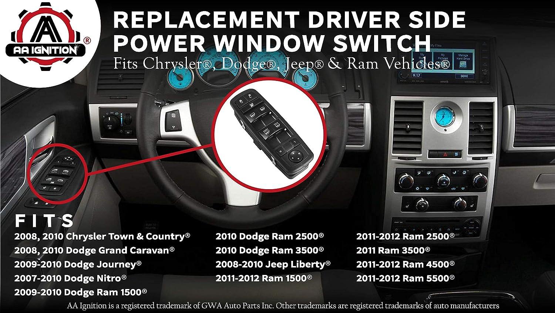 Auto Door Window Switch For Dodge Nitro Jeep Liberty 4602533AF 4602533AE