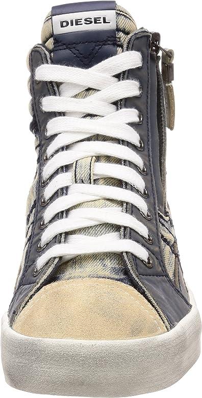 Diesel Mens D-Velows Lace-Sneaker Mid