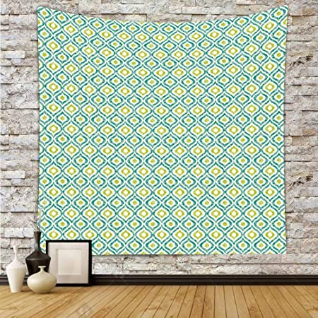 Polyester Tapestry Wall Hanging,Ikat,Ogee Pattern in Indonesian ...
