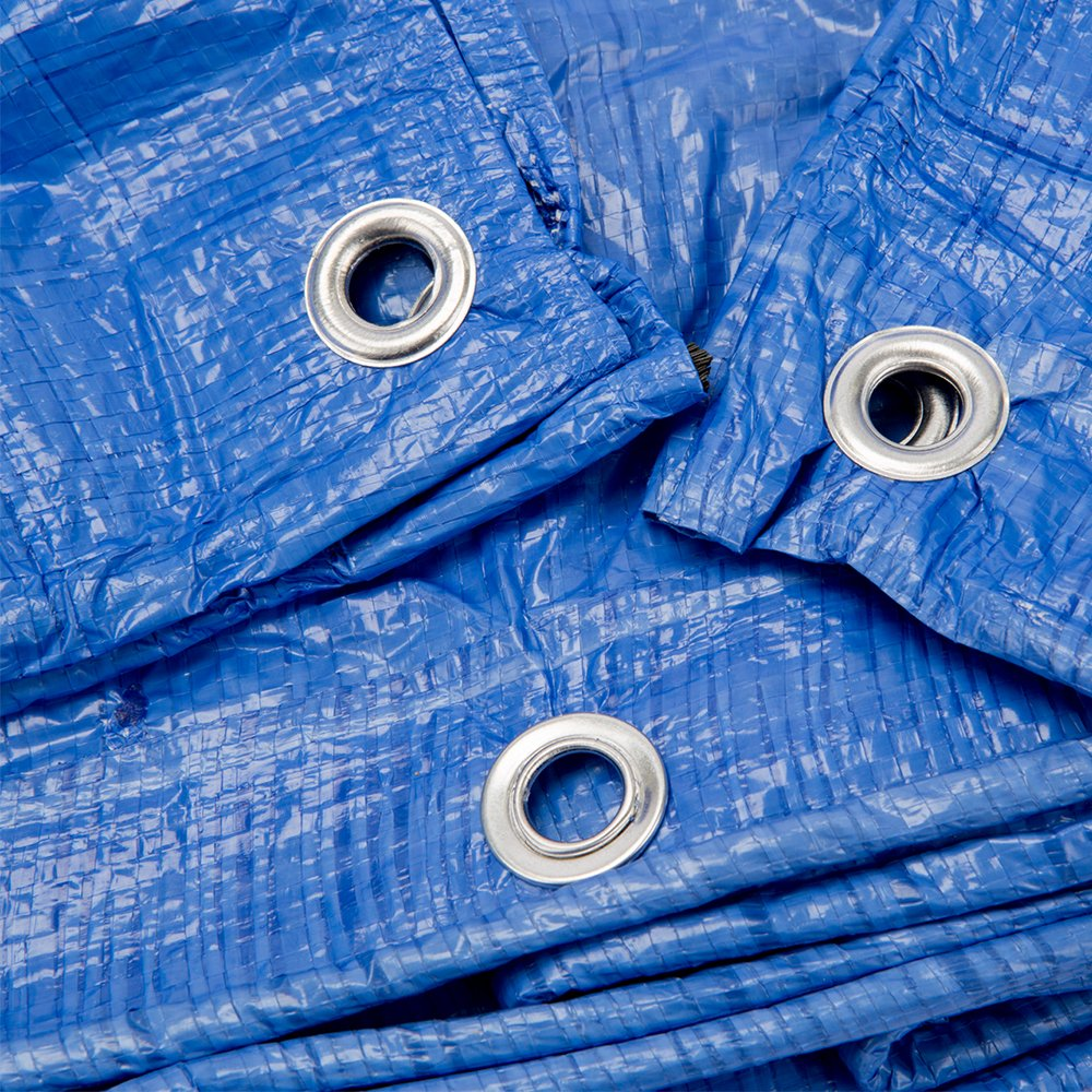 B-Air GTRP912 Grizzly Tarps 9 x 12 Feet Blue Multi Purpose Waterproof Poly Tarp Cover 5 Mil Thick 8 x 8 Weave by B-Air (Image #7)