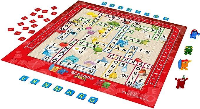 Hasbro Scrabble Junior: Amazon.es: Juguetes y juegos