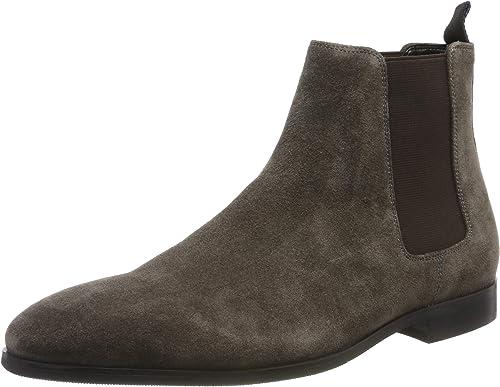 Dune Men's Mandel Chelsea Boots, Grey