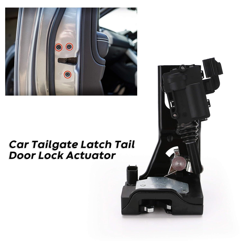 Integrated Rear Hatch Lift Gate Liftgate Tailgate Door Latch Lock Actuator for 2009-2012 Ford Escape 2009-2011 Mercury Mariner 2008-2011 Mazda Tribute Replace # 9L8Z-7843150-B 9L8Z7843150B