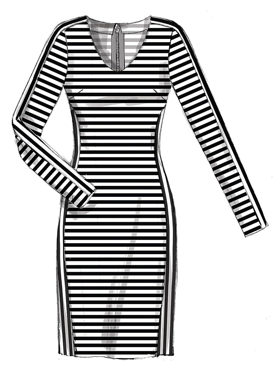 McCall\'s Patterns 7652 RR Miss Damen/Petite Kleider Schnittmuster ...